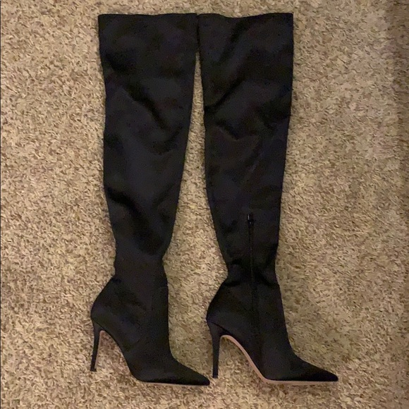 2080f84e322 Aldo Shoes - ALDO black over the knee boots!